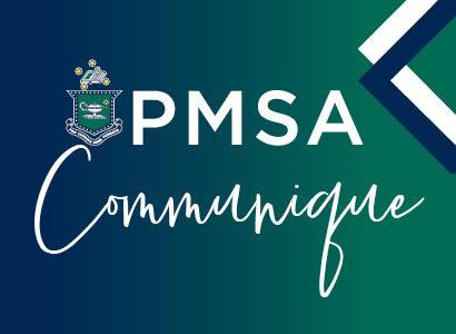 PMSA Communique – Term 4, 2020