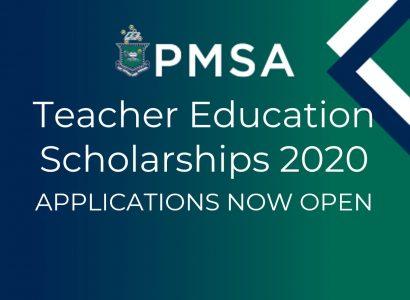 PMSA Teacher Education Scholarship applications now open