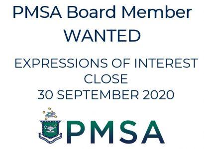 Call for new PMSA Board Member